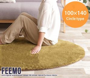 Feemo 100×140cm Circle type